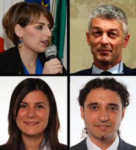 Dalila Nesci, Nicola Morra, Federica Dieni e Paolo Parentela