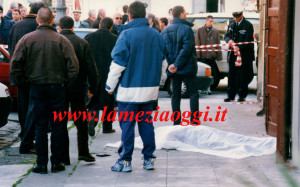 """Piazza Mercato Vecchio dove fu ucciso Giovanni Torcasio alias """"u mindicu"""""""