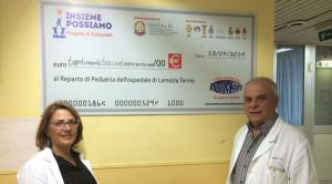 Mimma Caloiero e Ernesto Saullo