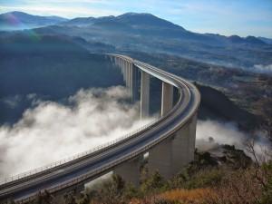Viadotto Italia Laino Borgo - Cosenza