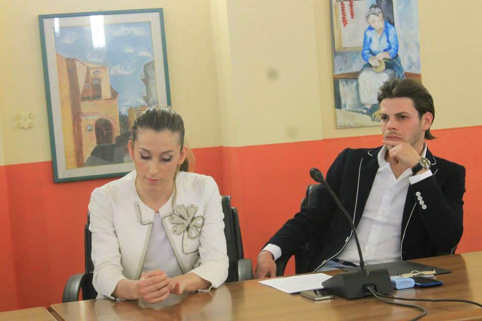 I maestri Sandra Galati e e Davide De Giorgi