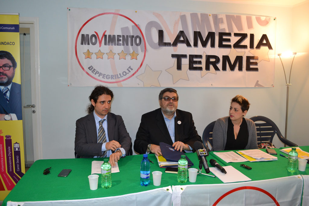 Paolo Parentela, Giuseppe D'Ippolito e Dalila Nesci