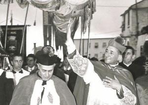 Monsignor Francesco Maiolo e il Vescovo Vittorio Moietta