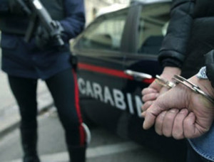 Arresto carabinieri