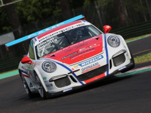Automobilismo: splendido podio per Iaquinta al Mugello