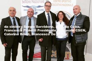 Catanzaro: Francesco De Nardo eletto presidente Provinciale del Csen