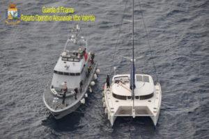 Gdf: gruppo aeronavale Vibo, nel 2016 sequestrati 190 kg cocaina