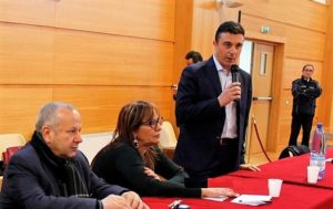 Pino Zaffina, Mariolina Tropea e Nicola Mastroianni