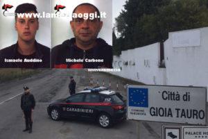 Sicurezza: due persone fermate per furto aggravato in concorso