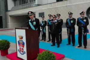 Carabinieri: Calabria, generale Paticchio nuovo comandante
