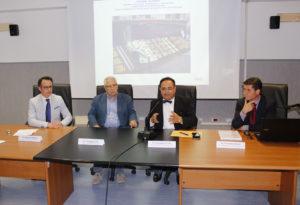 Pasquale Natrella, Giuseppe Perri, Giuseppe De Vito e Francesco Faragò