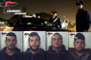 Droga: spacciavano hashish e marijuana, 4 arresti a Catanzaro