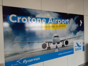 Aeroporto Crotone: N. Oliverio, perche' Flyservus annulla voli?