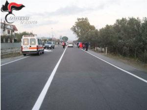 Incidenti: anziano travolto e ucciso sulla 106 nel Catanzarese