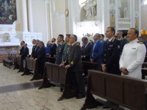 """Gdf: celebrata a Vibo ricorrenza di """"San Matteo"""", patrono del corpo"""