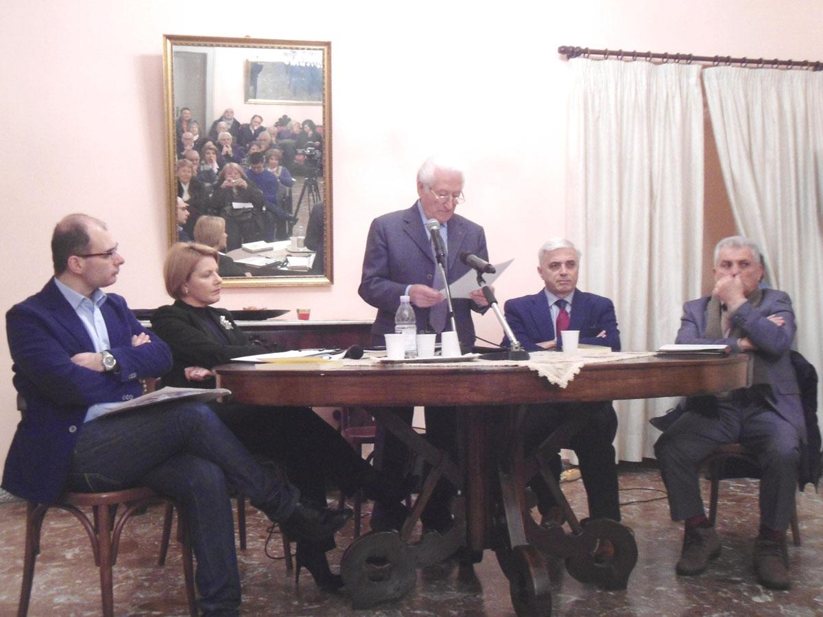 Nella foto sa sinistra Romeo, Gigliotti, Iannazzo, Iannantuoni e Cefalì