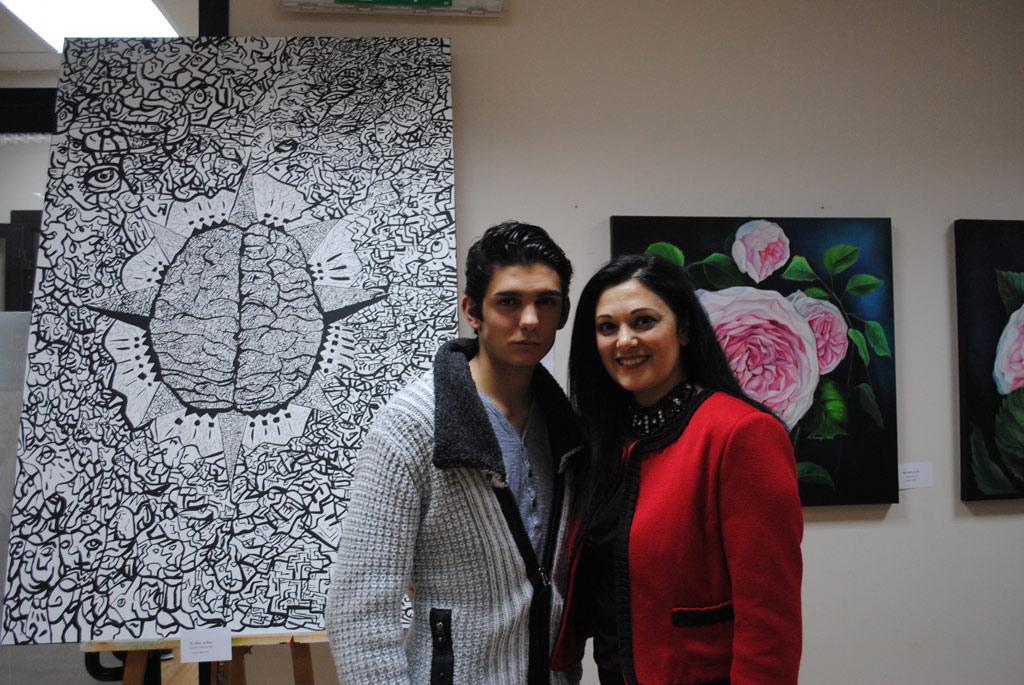 Cristian Mancuso e Angela Procopio