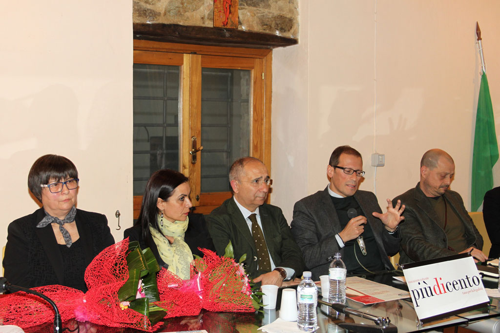 da sinistra Avolio, Garogalo, Magarò, Facciolla Parini