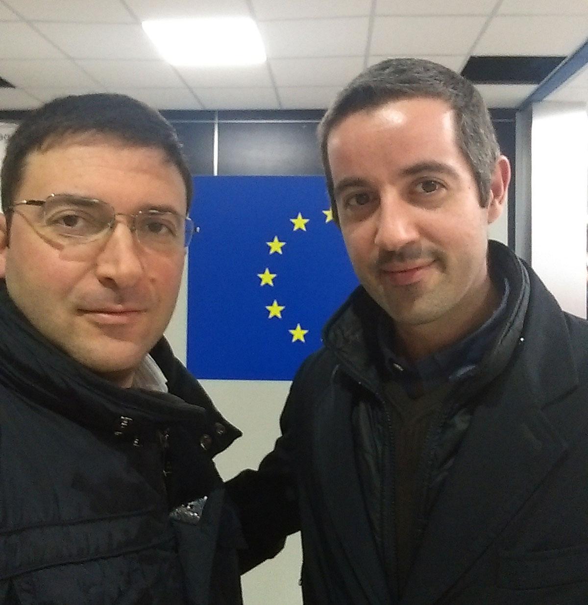 nella foto Falvo e Lombardo