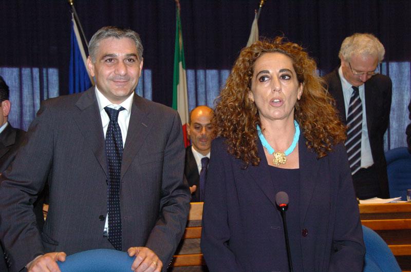 Maurizio Vento con Wanda Ferro