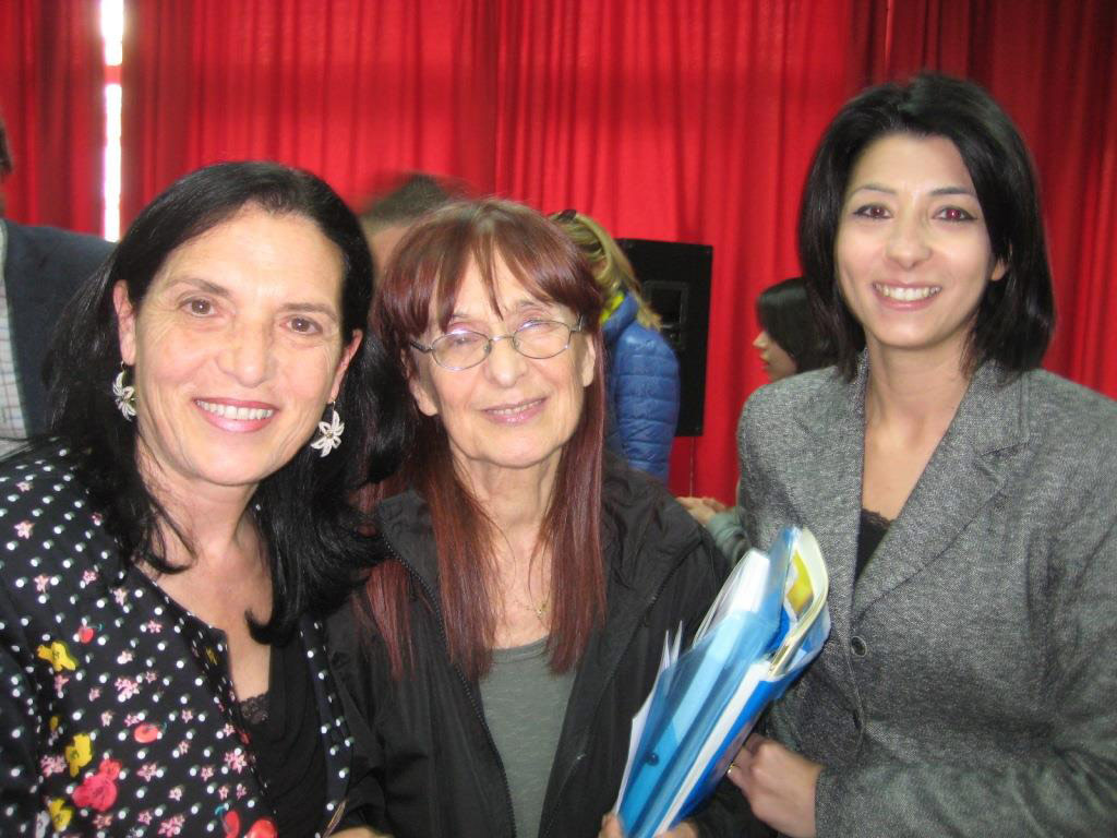 Caterina Calabrese, Germana Ernst e Miriam Rocca