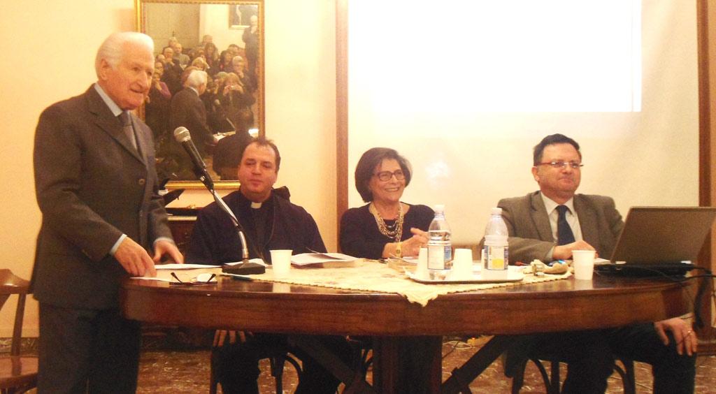 nella foto da sinistra Iannazzo, Masi, Falvo D'Urso e De Matino