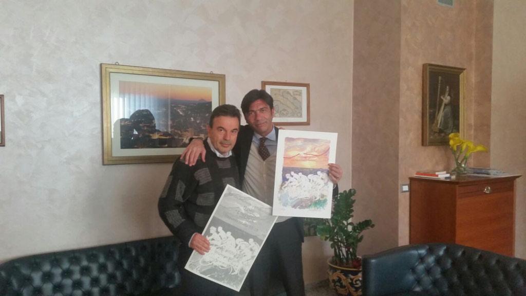 Gianni Speranza e Arturo Bova