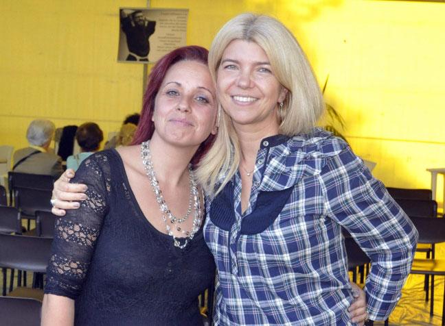 Irene Sisi e Claudia Francardi