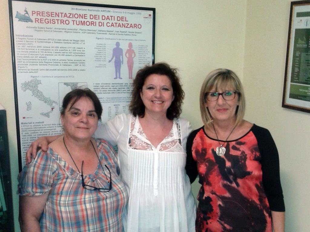 Pierina Mancuso, Antonella Sutera Sardo e Antonella Sia