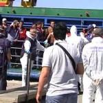 Migranti: sbarco a Vibo Valentia, arrestati 3 presunti scafisti