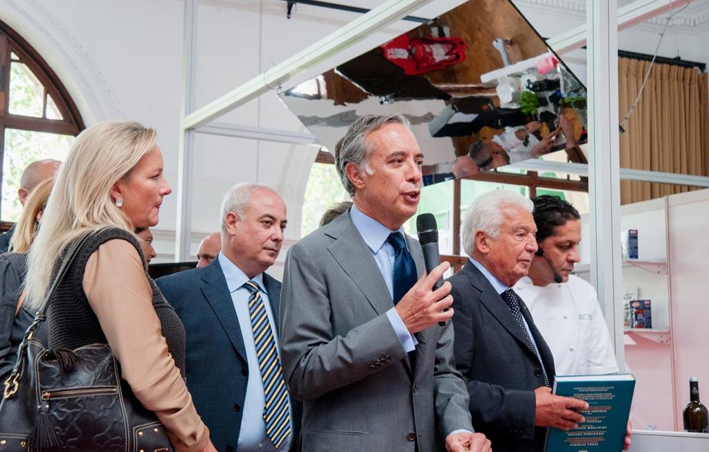 L'ambasciatore Terraciano inaugura Welcome Italia