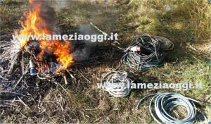 Reggio: 29enne arrestato per combustione illecita