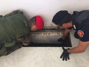"'Ndrangheta: covo-bunker ""freddo"" scoperto nel Reggino"