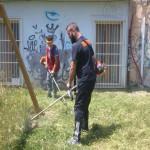 Lamezia: il bonificatore Gianturco pulisce area  in via Belvedere