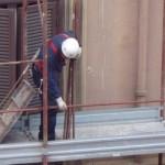 Incidenti lavoro:grave ma non morto operaio caduto da impalcatura