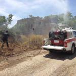 Incendi: emergenza nel Cosentino, spento rogo che minacciava case