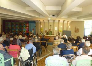 Platania: Vescovo Rimedio alla festa degli anziani