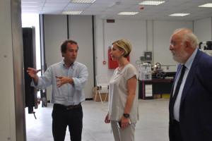 Universita': Bianchi ha visitato l'Ateneo di Arcavacata