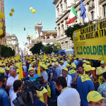 Grano: protesta Coldiretti,-42% prezzi e 300.000 aziende in crisi