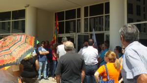 Lavoro: Lsu-Lpu, protestano davanti cittadella regionale