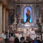 Conflenti: migliaia di pellegrini al Santuario mariano