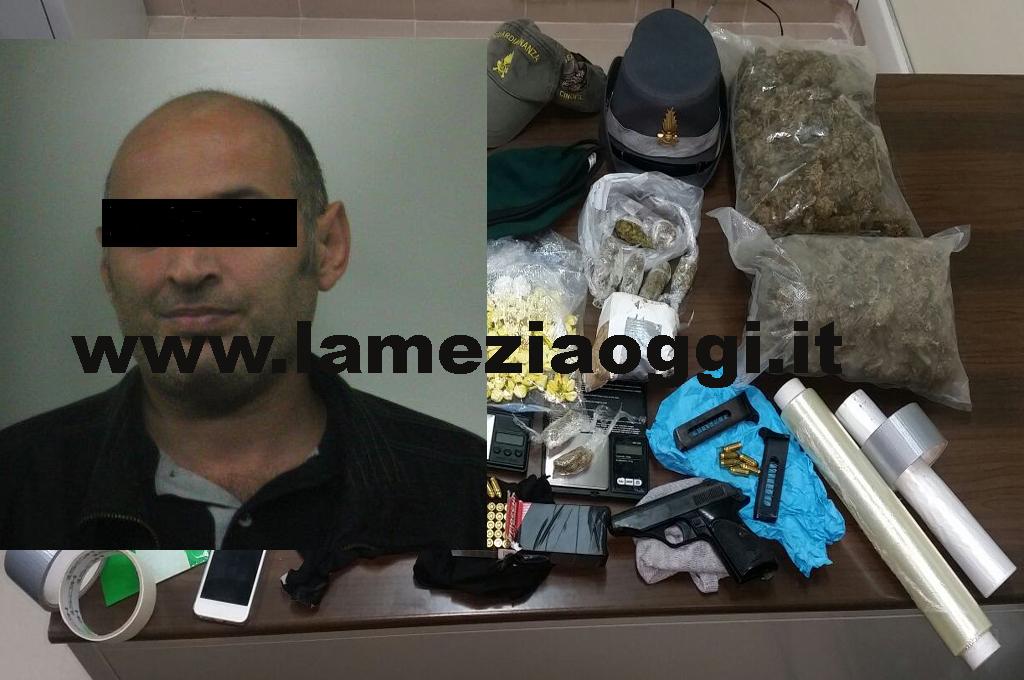 546082fb3a Lamezia: 37enne arrestato dalla Gdf per ami e droga
