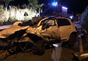 Incidenti stradali: due morti e 4 feriti nel Cosentino