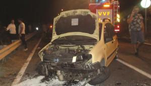 Incidenti: auto fuori strada nel Catanzarese, tre i morti
