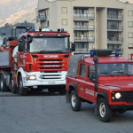 Negozio bigiotteria danneggiato da incendio a Rossano