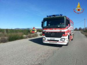 Reggio: sedicenne cade da ponte soccorso da Vigili Fuoco