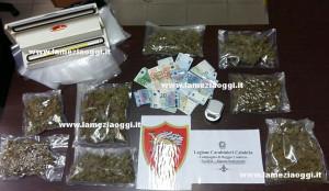 Studente arrestato per droga dai carabinieri a Reggio Calabria