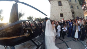 Matrimonio in elicottero, pm esaminano lista invitati