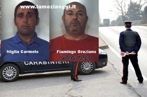Droga: sorpresi con 1 kg marijuana, 2 arresti nel Vibonese