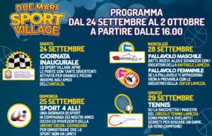 """Domani apre i battenti a Maida il """"Due mari sport village"""""""
